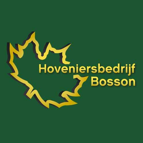 logo hoveniersbedrijf bosson